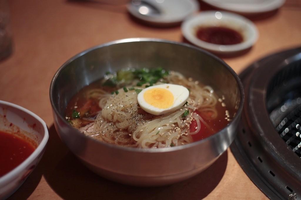 大好きな上野 焼肉たむらの冷麺