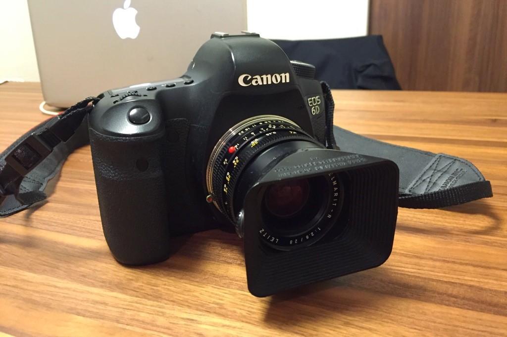 CANON 6Dとライカ ELMARIT-R 28mm