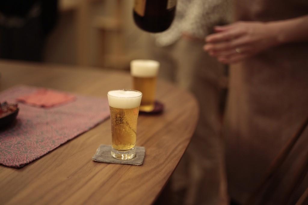 美味しそうなエビスビール