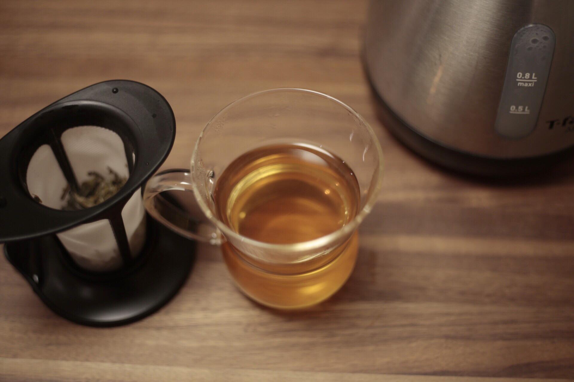 色も香りも楽しめる凍頂烏龍茶