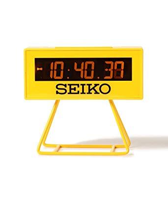 SEIKO ミニスポーツタイマークロック SQ-815-Y