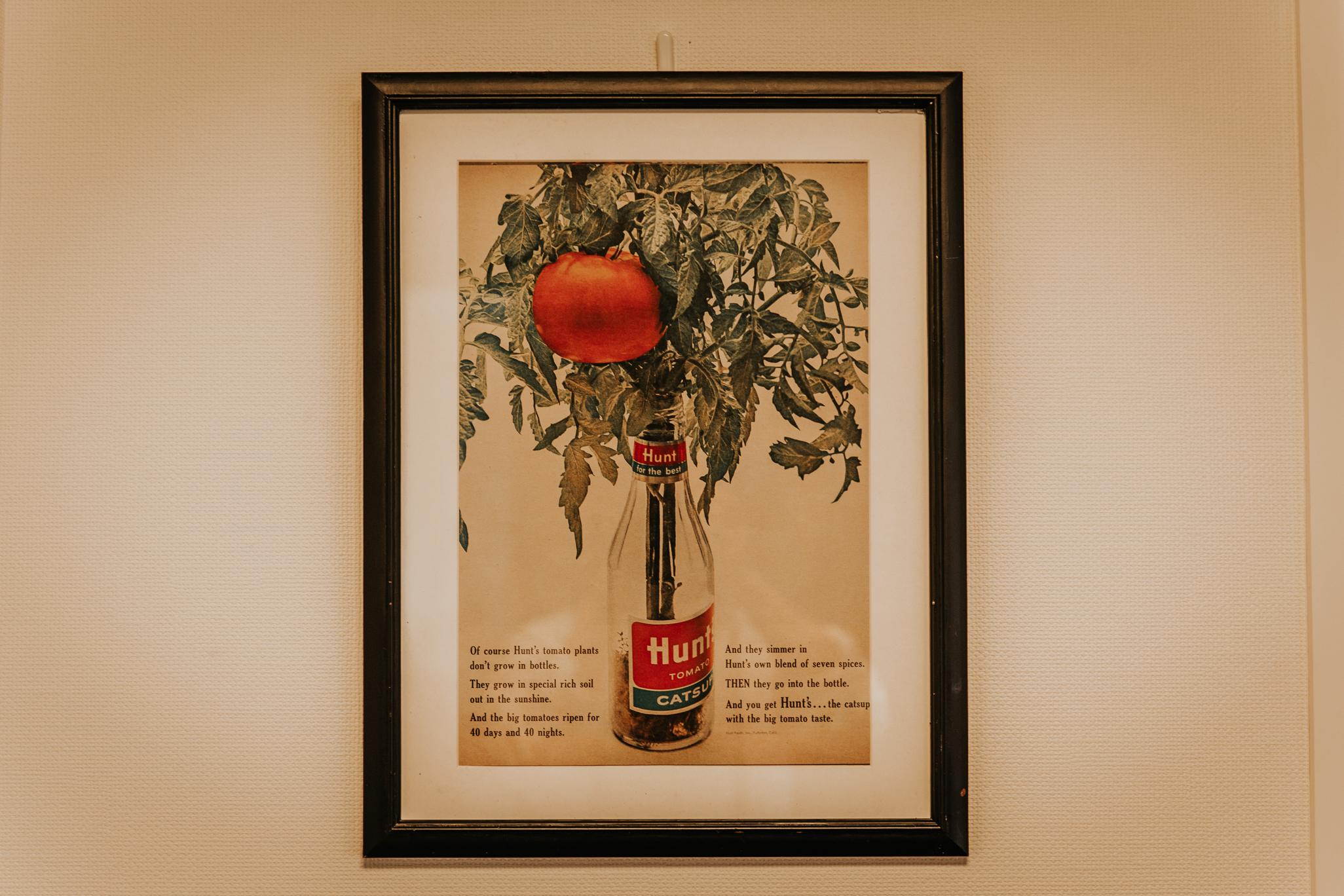 Hunt's Vintage AD|トマトケチャップ広告