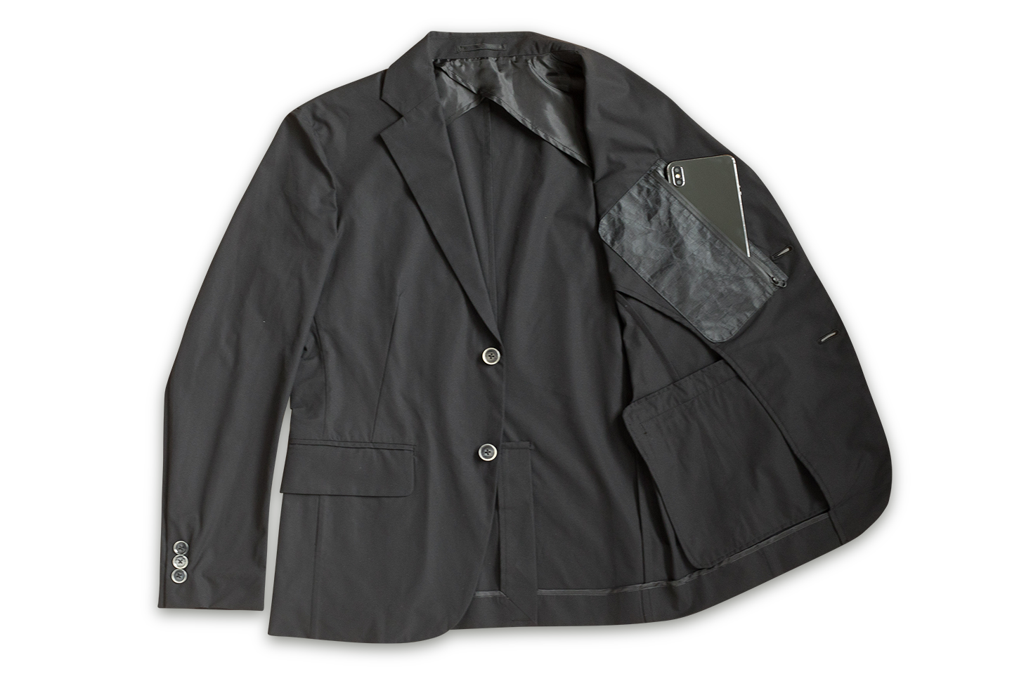 BLACK POCKET with TRAVEL JACKET|NEXTRAVELER TOOLS
