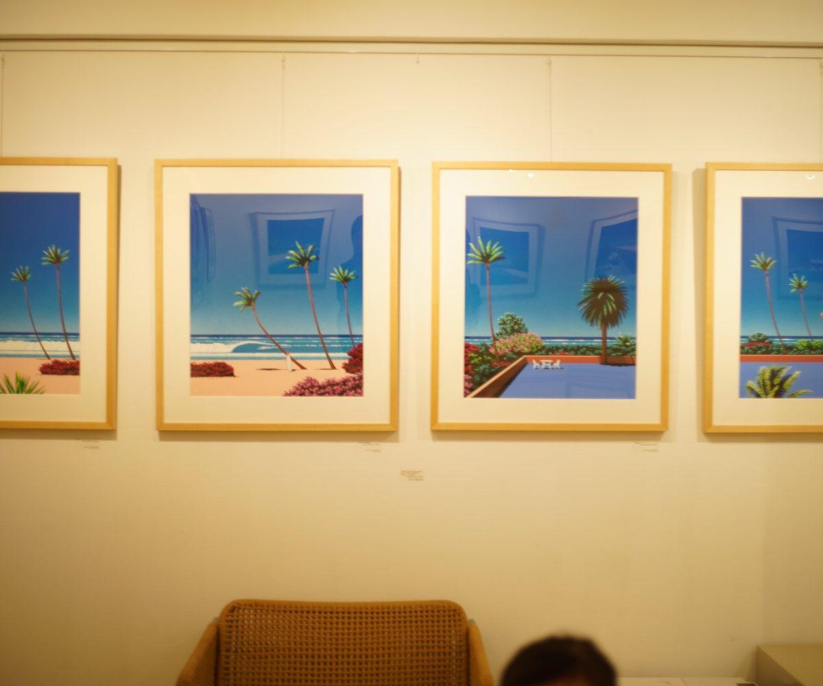 永井博さんのギャラリーを訪問