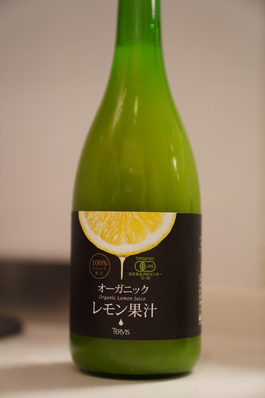 テルヴィス 有機レモン果汁