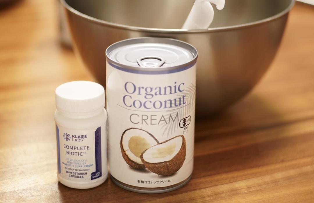 【カゼインフリー】ココナッツミルクで作るヨーグルト
